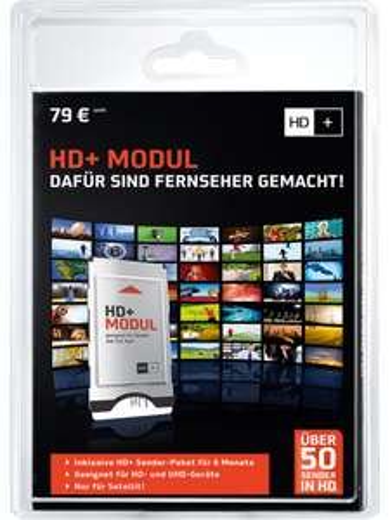 HD+ Modul inkl. 6 Monate HD Sender-Paket für 39€ (Mobilcom Debitel)