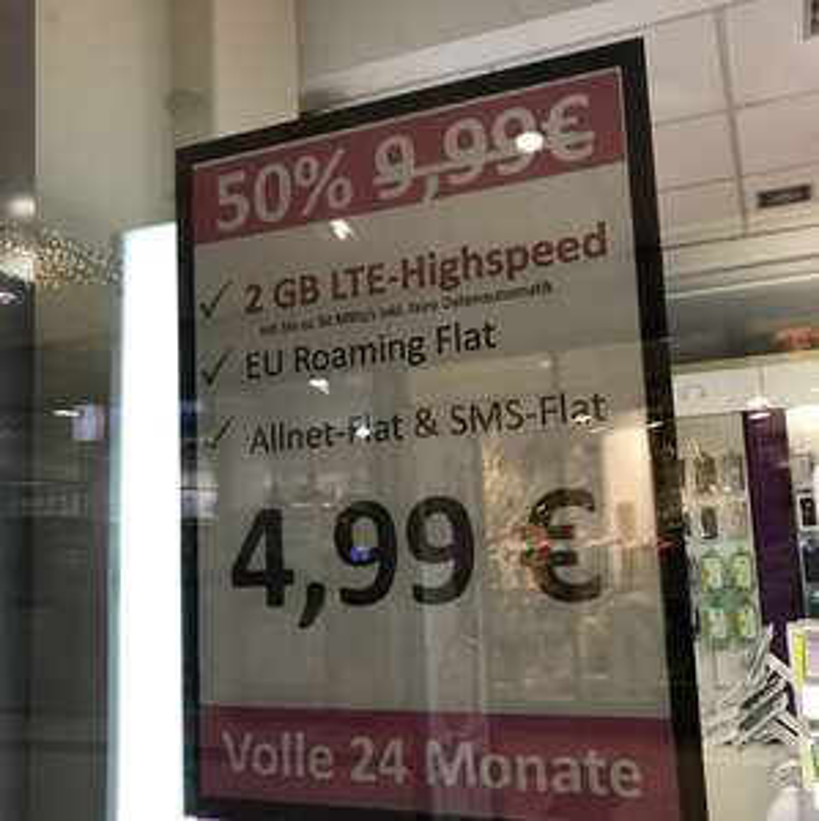[Lokal MTZ] Yourfone Allnet 2GB für mtl. 4,99€