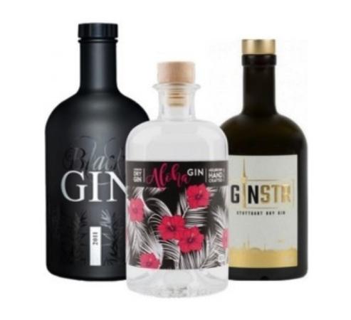 3 regionale Gins im Set für 64,95€ statt 99,95€ bei gininabottle