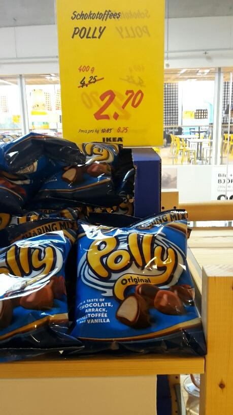 Ikea (Düsseldorf) Polly original Bonbons und andere Kekse und Süßigkeiten stark reduziert