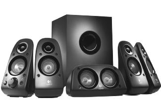 Logitech Z-506 5.1-Surround-Sound-Lautsprechersystem mit Subwoofer für 49,-€ versandkostenfrei [Saturn]