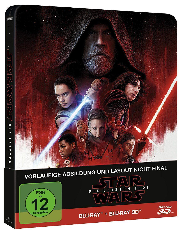 Star Wars: Die letzten Jedi (2D & 3D Steelbook Edition) [3D Blu-ray] [CeDe Vorbestellung]