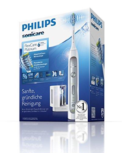 [Amazon] Philips Sonicare Flexcare Platinum HX9172/15 Schallzahnbürste, Reise-Etui, UV-Reinigungsgerät