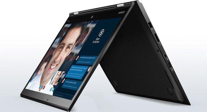 """[cyberport] Lenovo ThinkPad X1 Yoga 2in1 14"""" WQHD OLED Notebook (i7-6600U, Multiitouch, 16GB DDR3L, 1TB SSD, 802.11ac, 3x USB-A 3.0, Fingerprint, bel. Tastatur, LTE, Win10 Pro x64, MIL-STD-810G, 1,40kg)"""