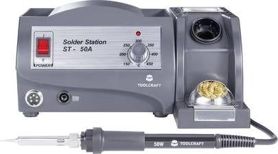 TOOLCRAFT Lötstation W ST-50A bei SMDV versandkostenfrei
