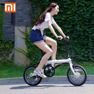 [gearbest] Xiaomi QiCYCLE - EF1 Smart Bicycle  -  WHITE