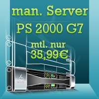 [NetCup Adventskalender] Managed Server PS 2000 SSD G7