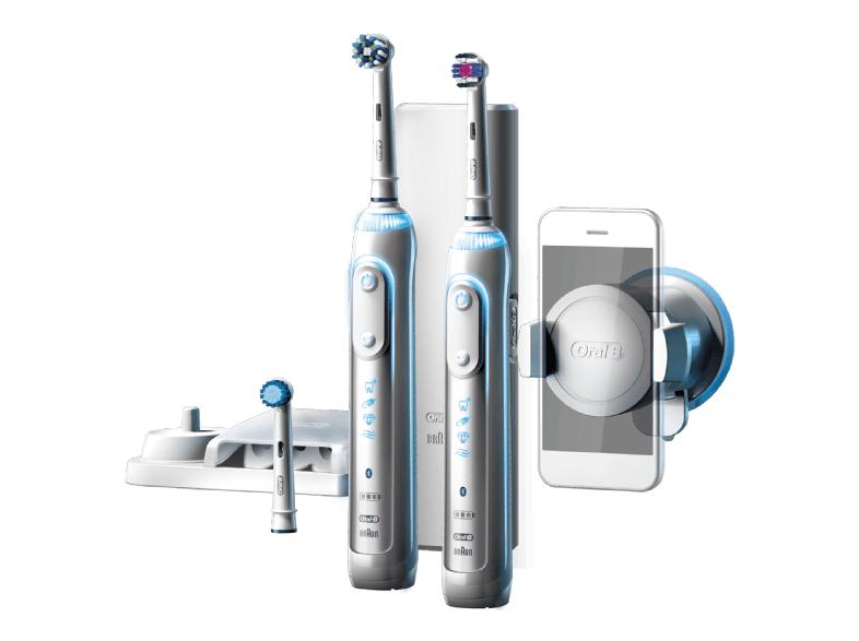ORAL-B Elektrische Zahnbürste Genius 8900 + 2. Handteil Weiß
