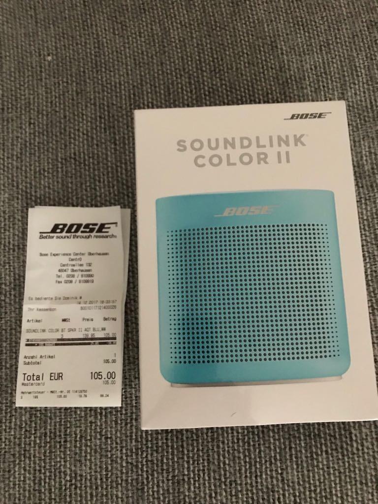 (lokaler Deal) Centro Oberhausen -- Bose Soundlink Color 2