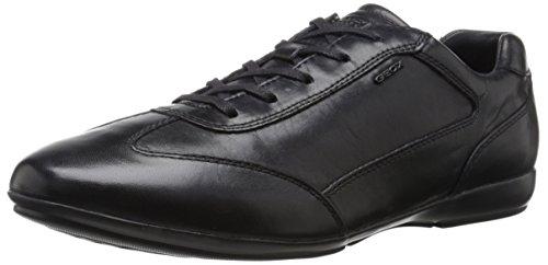 [AMAZON + GEOX.COM] GEOX EFREM Herren Sneaker Leder schwarz (Update: auch auf GEOX.COM für 58 EUR verfügbar)
