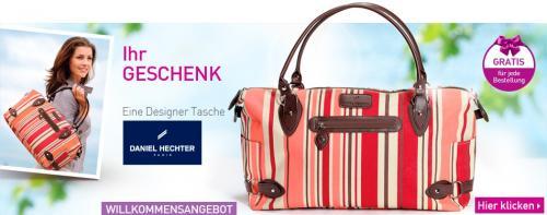 Pierre Ricaud: Daniel Hechter Tasche + Achat-Kette gratis bei nur MBW 8,- und versandkostenfrei