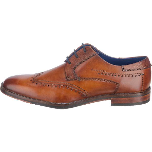[mirapodo] Bugatti Business Schuhe aus Nappaleder (mit NL-GS)