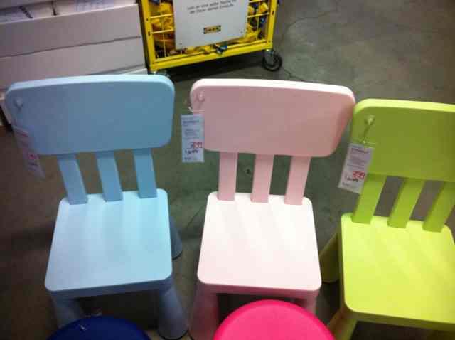 IKEA Brinkum MAMMUT Kinderstuhl rosa blau grün Bundesweit !!! zu KNUT