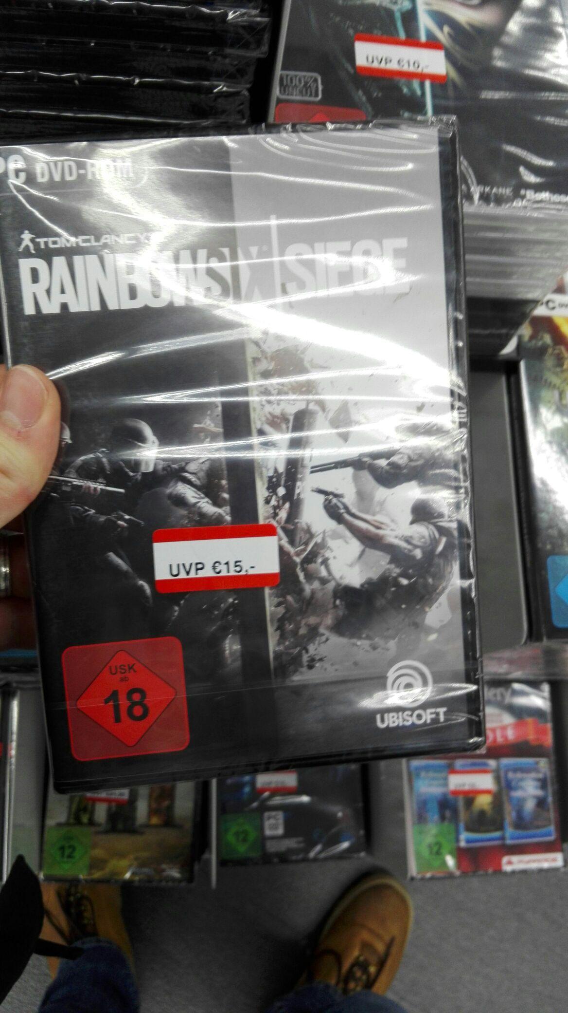 Tom Clancy's Rainbow Six Siege PC bei Media Markt im Milaneo Stuttgart