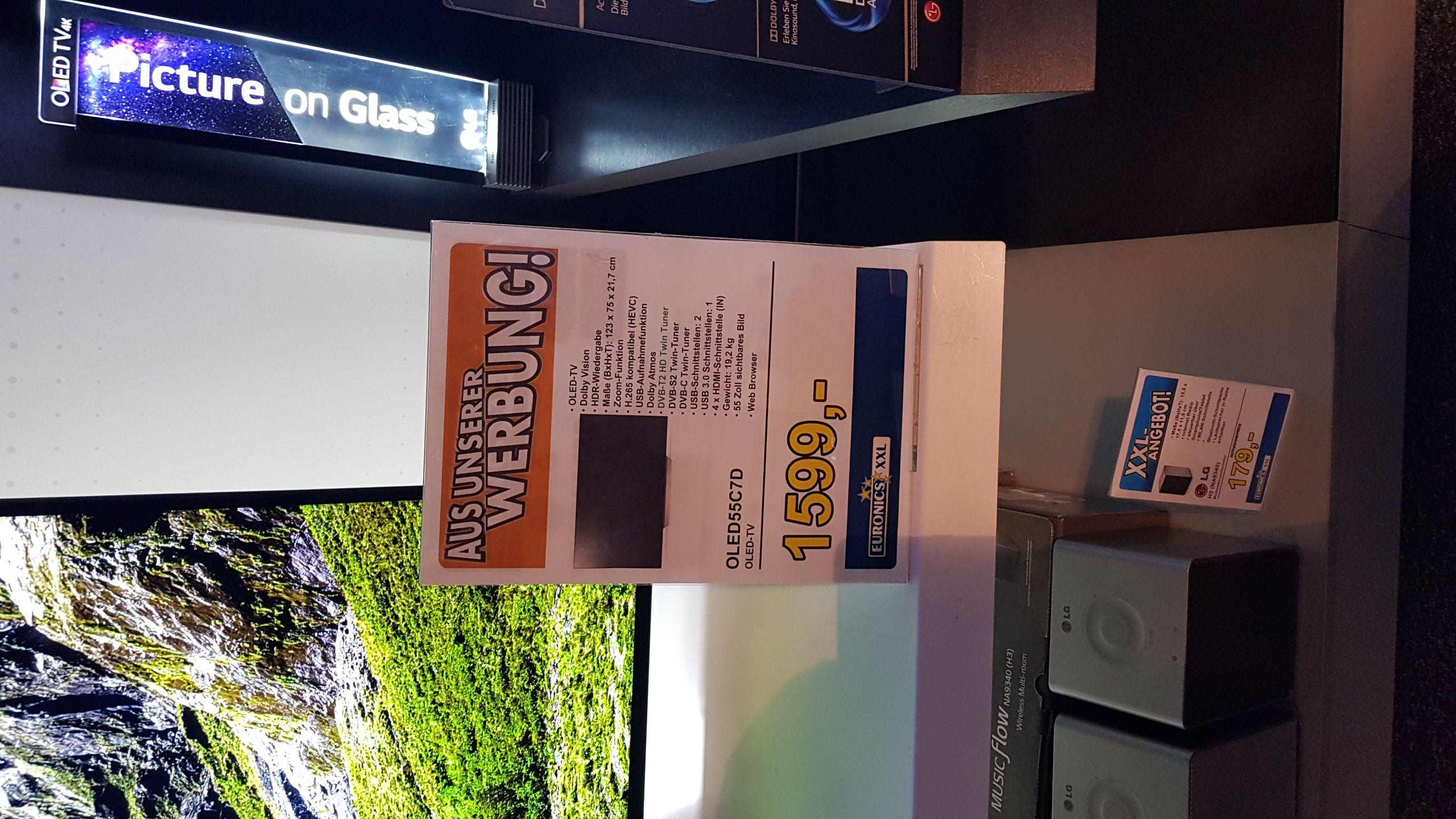 [Lokal] LG OLED 55 C7 (139cm, Dolby Atmos, OLED)
