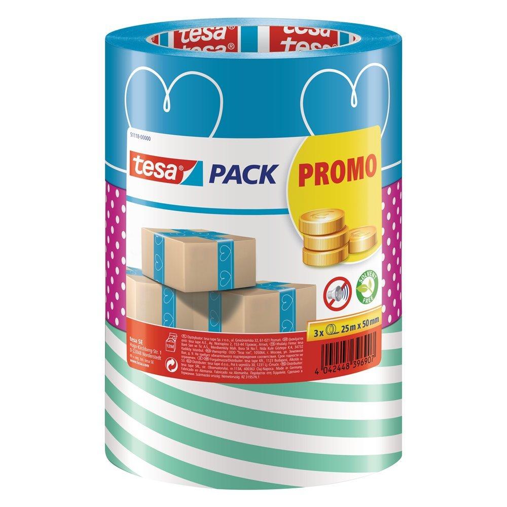 TESA Packband, 3 Motiv-Rollen für 1,99 Euro [Kaufland]