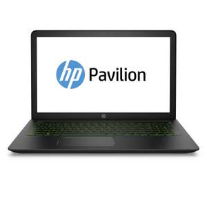 "Gaming Notebook  HP Power Pavilion 15-cb013ng 15,6"" FHD IPS, Intel Core i7-7700HQ, 16GB DDR4, 256GB SSD + 1TB, GeForce GTX 1050Ti 4GB, Win10"