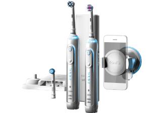 ORAL-B Genius 8900 elektrische Zahnbürste Weiß/Silber - Cashback 10,- €