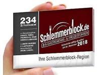 Schlemmerblock für 12,46 EUR (bei Abnahme von 6 Stk.)