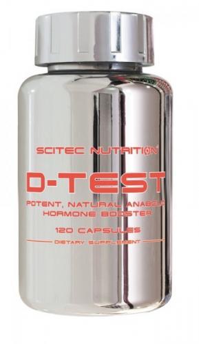Testosteron Booster D-Test von Scitec unter 20€ und fallend