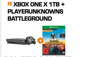 [Saturn.de] XBOX ONE X 1TB + PLAYERUNKNOWNS BATTLEGROUND