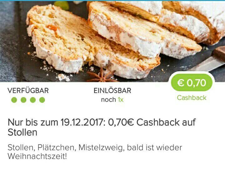 [Marktguru-App] 0,70€ Cashback auf Stollen