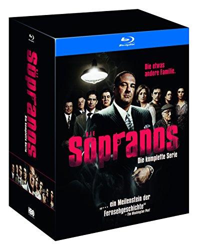 Die Sopranos - komplette Serie auf BluRay - Amazon Limited Edition