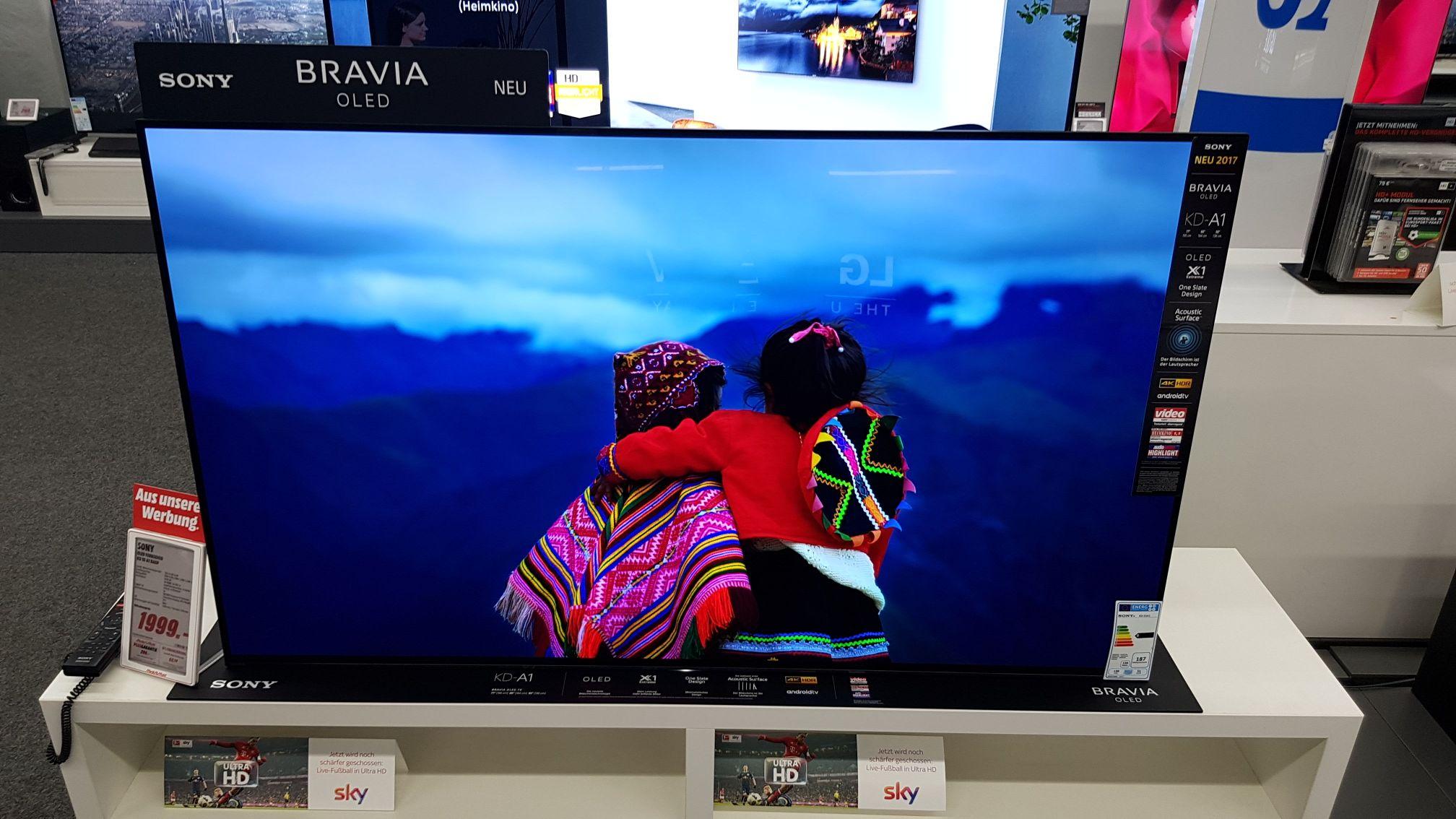 "[Lokal] Media Markt Plauen - Sony KD 55 A1 BAEP 55"" OLED"