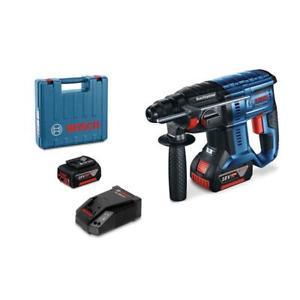 [Ebay plus] Bosch SDS-Plus Akku-Bohrhammer GBH 18V-20 mit 2 x 5,0 Ah und Koffer