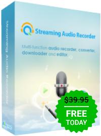 Giveaway of the day — Streaming Audio Recorder 4.2.0 Streaming Audio Recorder ist eine tolle Software zum Aufnehmen von allen Sounds, die euer Betriebssystem von sich gibt.
