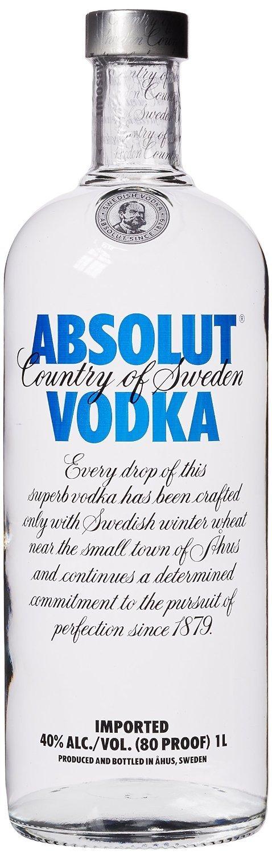 Viele Wodka-Marken (Absolut, Belvedere, Ciroc, Jelzin, Grey Goose...) im Amazon Tagesangebot