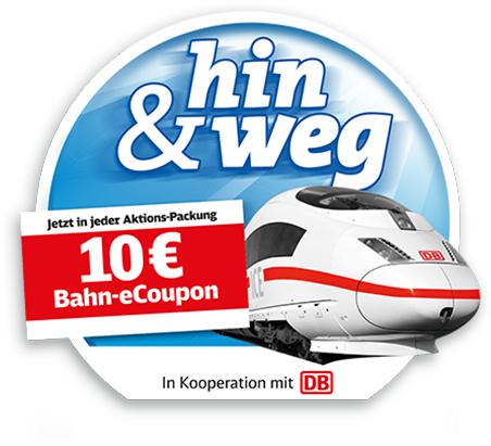 [Bahn] Ab 18. Dezember: 10€-eCoupons (MBW 29€) in Hanuta und Duplo Aktionspackungen