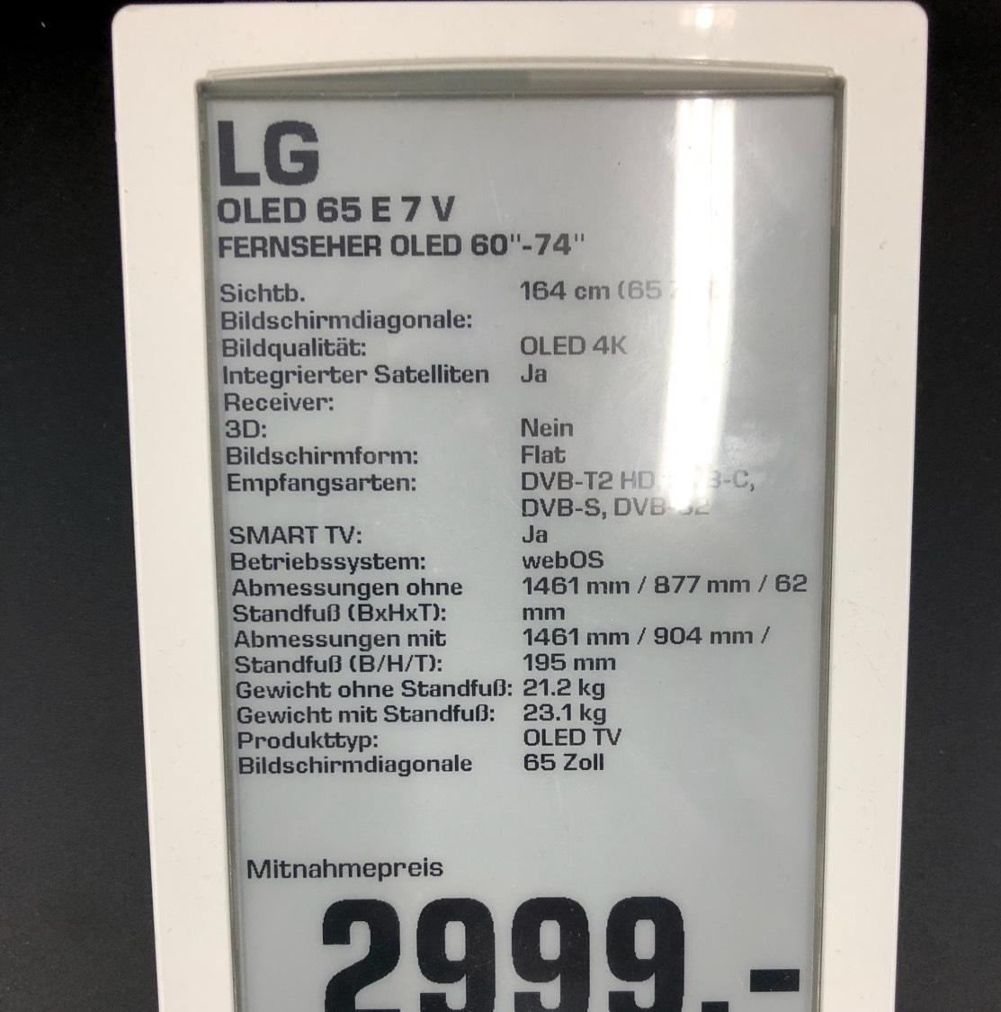 LG OLED 65 E7 V