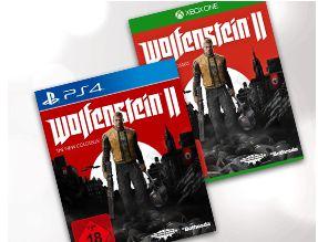 Wolfenstein II: The New Colossus - PlayStation 4 und Xbox One für je 28,-€ bei Zahlung über Paydirekt//versandkostenfrei [Saturn]