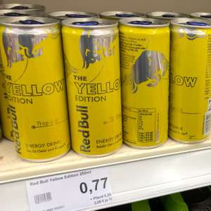 (Lokal) Red Bull Yellow Edition 77 Cent