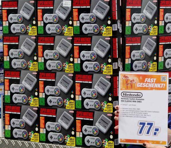 Nintendo Classic Mini SNES für 77€ nur offline und nur am 17.12.17 in Wittenberg
