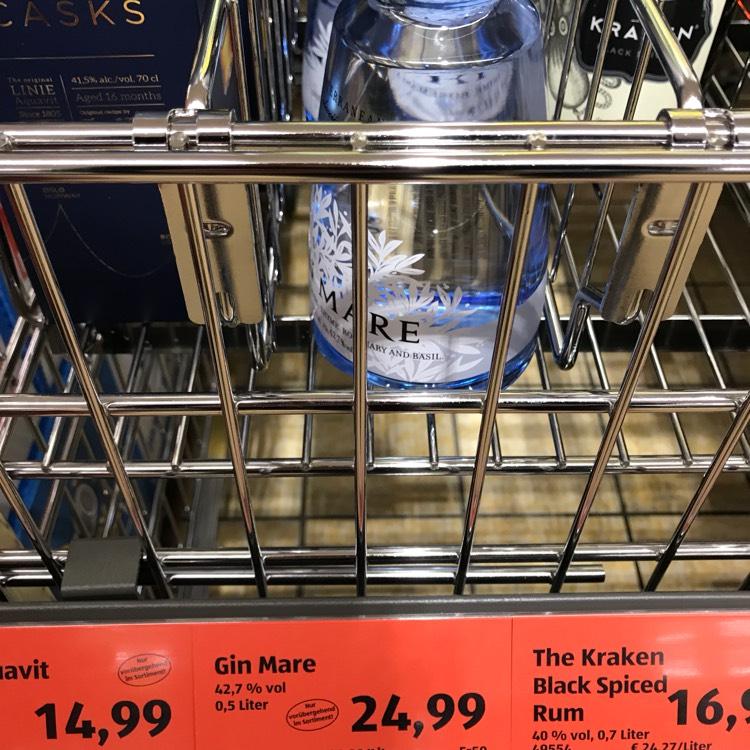 (Aldi Süd) Gin Mare 0,5 Liter