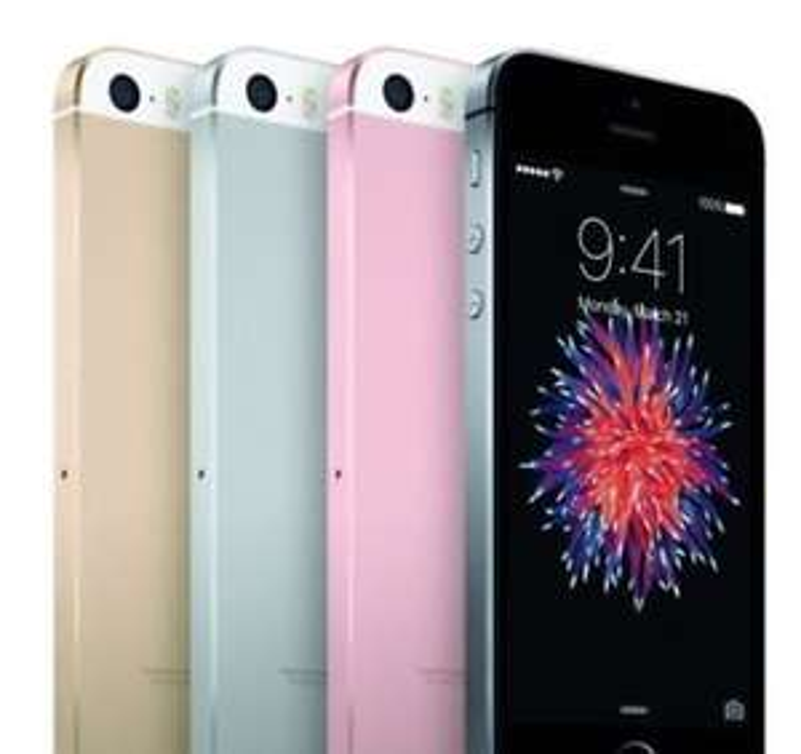 Apple iPhone SE 32 GB rosé/grau NEU ohne Vertrag [ebay Plus]