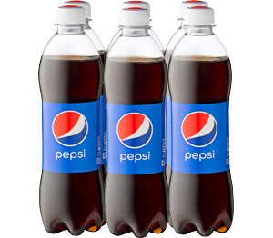 [Kaufland] 6 0,5l-Flaschen Pepsi/Mirinda/Seven Up/Schwip Schwap für 1,80 € zzgl. Pfand