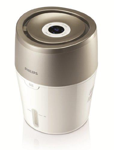Philips HU4803/01 Luftbefeuchter (bis zu 25m², hygienische NanoCloud-Technologie, leiser Nachtmodus, Automodus)