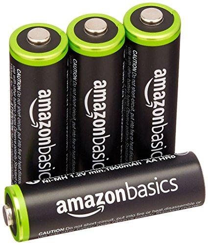 AmazonBasics Ni-MH AA Akkus 4 Stück für 5,45€ (1,36/Stk) [Amazon]