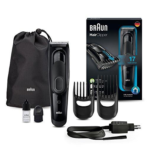 Braun Haarschneider HC5050, einsetzbar als Trimmer, 17 Längen [Amazon Prime]
