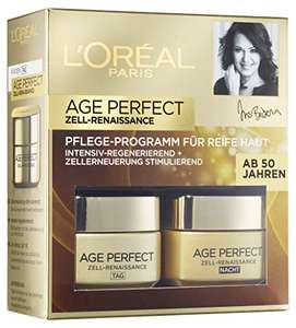 [Amazon Prime] L'Oreal Paris Gesichtspflege Age Perfect Zell Renaissance Gesichtscreme Coffret 2x50ml