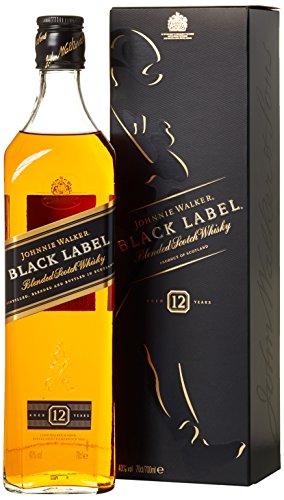Johnnie Walker Black Label Blended Scotch Whisky (1 x 0.7 l) [Amazon Prime]