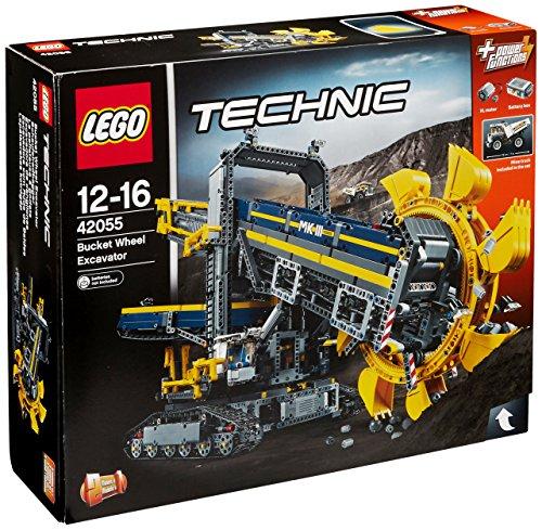 Lego Technic Schaufelradbagger 42055 + kostenlos Lego Batman Catwoman Catcycle Verfolgungsjagd 70902 für 143,15€ [Amazon.co.uk]