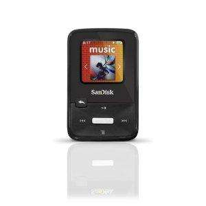 SanDisk Sansa Clip Zip MP3-Player 8GB (2,8 cm (1,1 Zoll) Display, Radio) schwarz 40,99 € nur heute!
