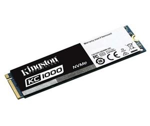 Kingston SSDNOW KC1000 M.2 NVMe - 480GB - 2700 MBps (lesen)/ 1600 MBps (Schreiben)
