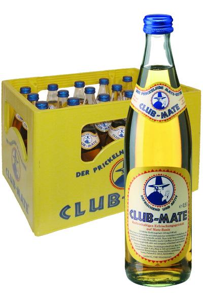 [Regional - Getränke Wirth in 91074 Herzogenaurach] - Club Mate Kasten mit 20 x 0,5 Liter Flaschen für € 8,88 zzgl. Pfand