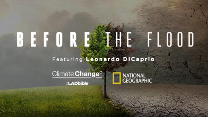 kostenlose Doku - Before the Flood mit Leonardo DiCaprio (englisch)