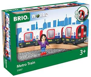 [Amazon Prime] BRIO World 33867 - U-Bahn mit Licht und Sound